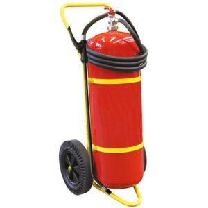 släckaggregat 50 liter för litiumbatterier